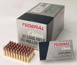 500 rounds of .22LR ammo