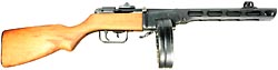 PPSh submachine  gun