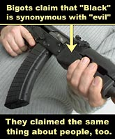 Evil Black Rifle?