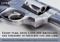 Personal defense weapons save over 2 million lives every year