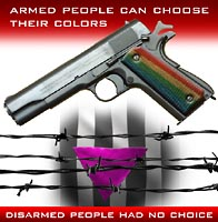 Disarmed people get no choices