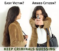 Keep criminals guessing